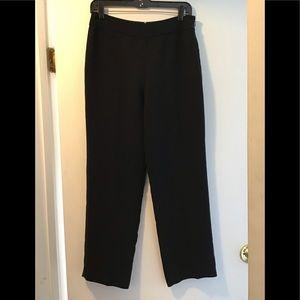 Loft Petites Black career pants 6P